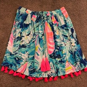 Lilly P strapless top